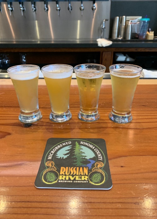 Samplers of Russian River Beers